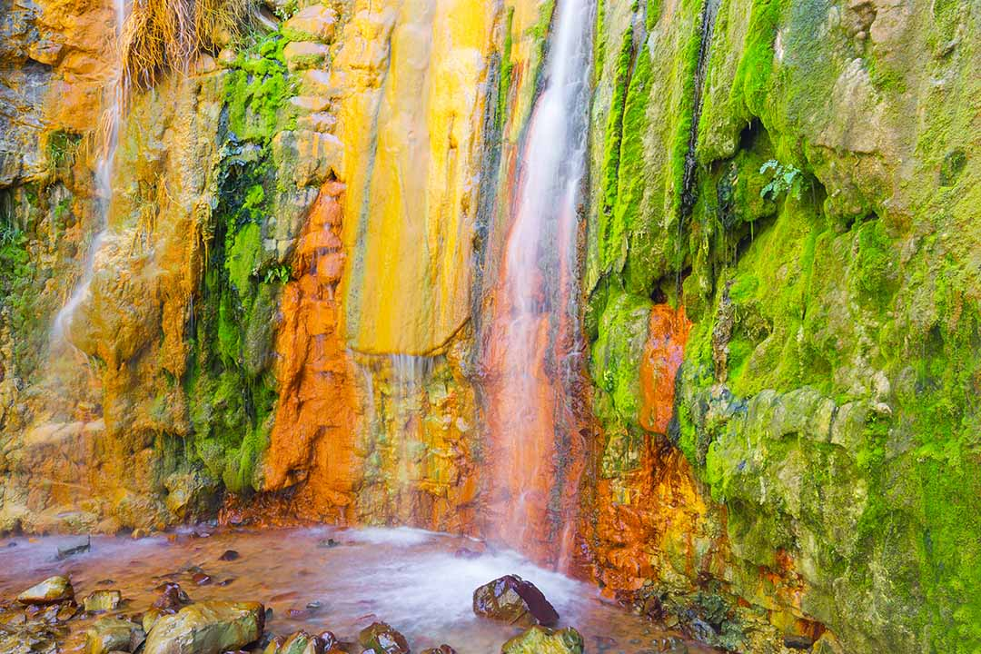 Cascade of Colors, Caldera de Taburiente, La Palma