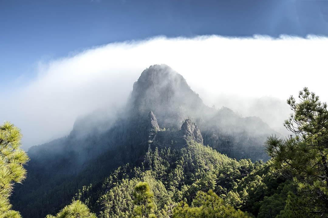 La palma cumbrecita mountains viewpoint