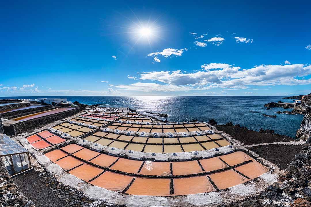 The salt planes of La Palma