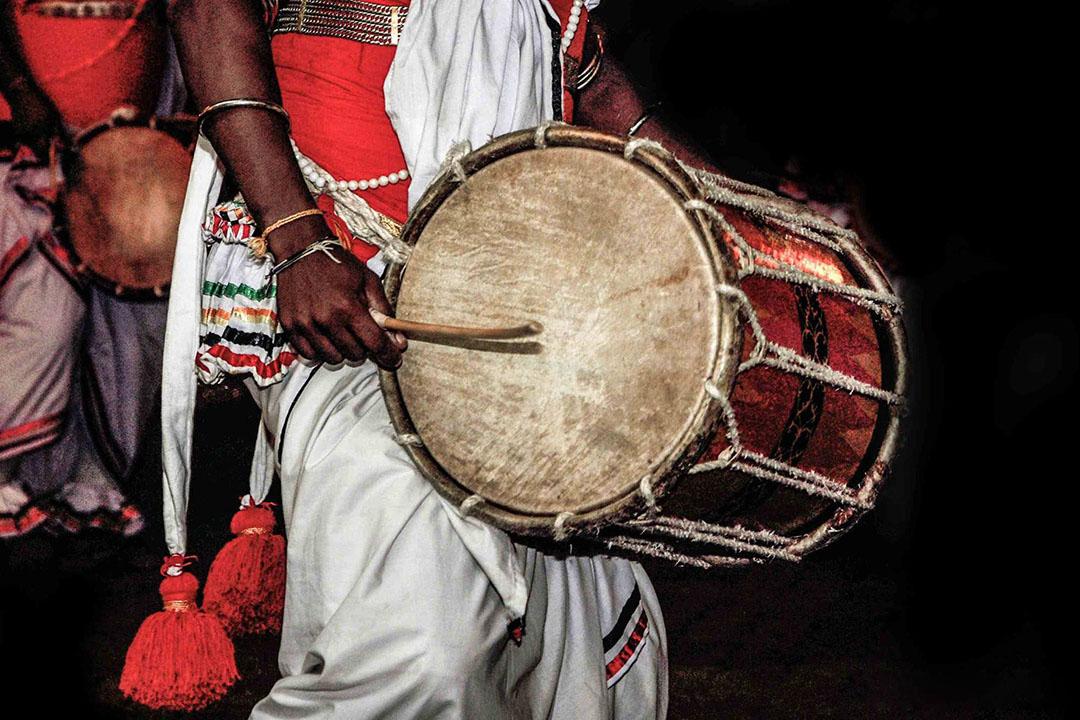Sri Lanka drummer