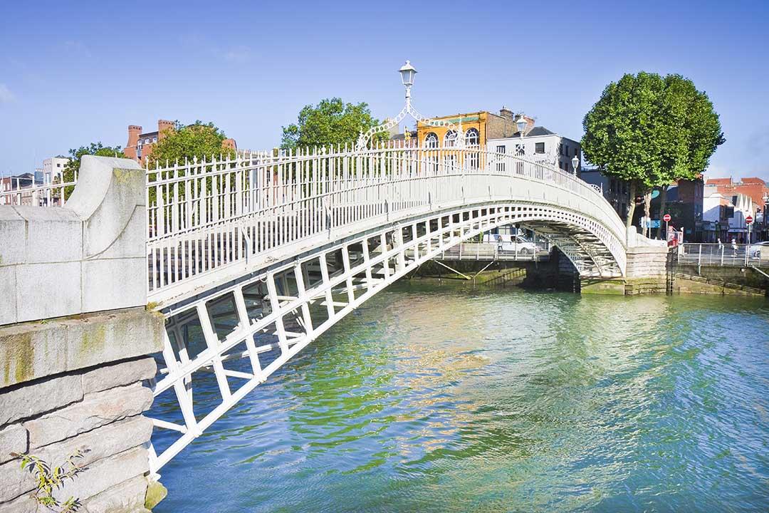 Dublin's half penny bridge