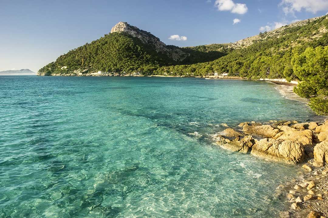 Formentor beach in Majorca