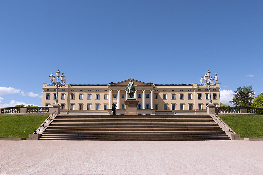 Oslo Royal Palace- Image Credits: VISITOSLO/Didrick Stenersen