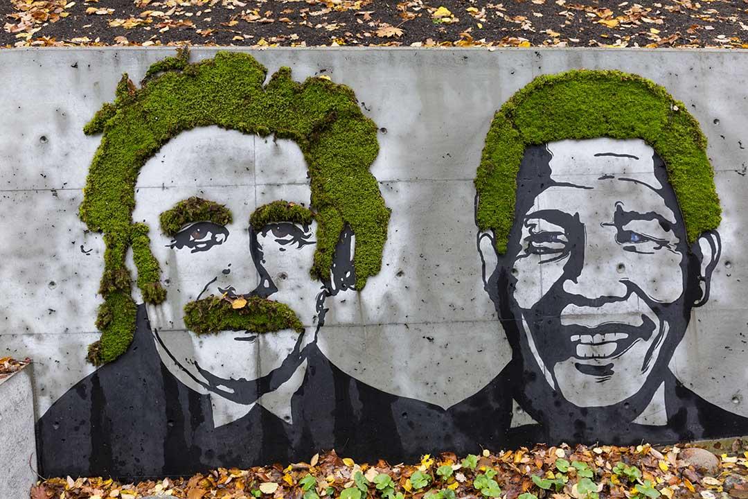 Back Urban moss art. Photo credits: VISITOSLO/Didrick Stenersen