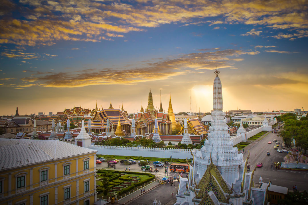 The Grand Palace Temple in Bangkok