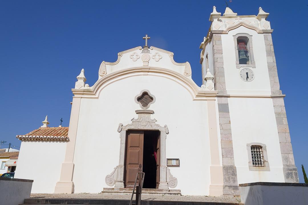 Catholic Church in Vila do Bispo, Algarve, Portugal