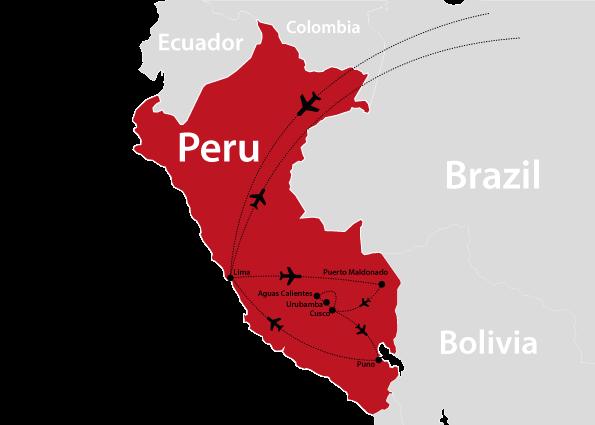 Aguas Calientes Peru Map.Peru Map 2
