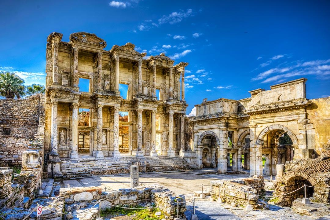 The Celcius Library in Ephesus