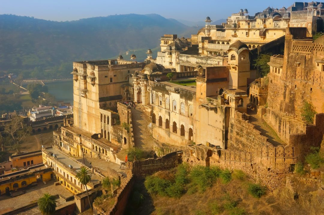 Taragarh fort in Bundi, one of the biggest indian castles.